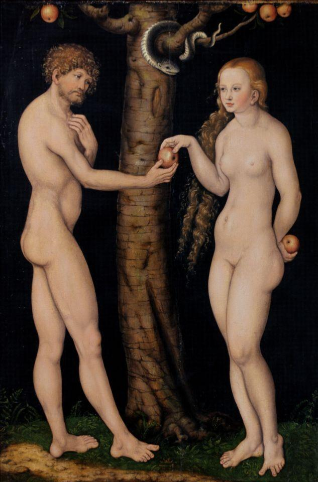Lucas Cranach Adam and Chava